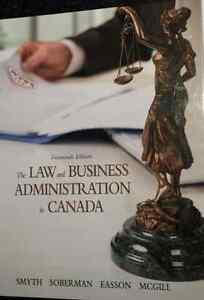 Law and Business Administration in Canada - 14th Edition