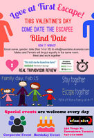 Single - Valentine - Speed Dating event / family day event