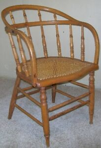 Antique Windsor Arm Chair, 1850-1900