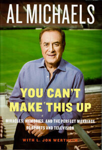 Sports book: Al Michaels biography You Can't Make This Up!