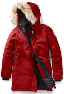 Victoria Parka - Canada Goose in Burgundy (Redwood)