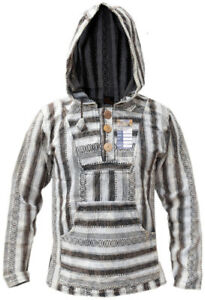 Fair Trade Knitted Baja Hoodie
