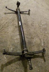 Lippert 3500# trailer axle w/ leaf springs & drop spindle