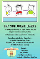 Baby Sign Language Classes