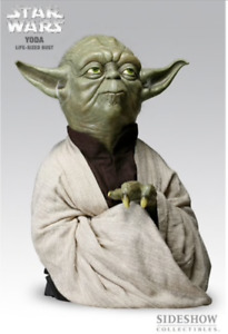 Sideshow Collectibles Star Wars Yoda Life Size Bust