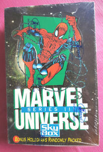 1992 MARVEL UNIVERSE SERIES 3 TRADING CARDS - Sealed box