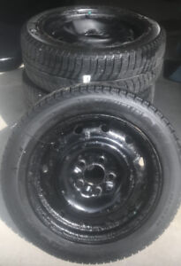 4 Michelin X-ICE 205/55R16