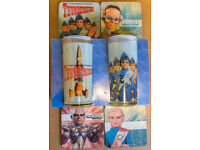 ***Thunderbirds Are Go 2 x Glasses + 4 x Coasters*** LAST CHANCE
