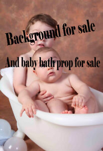 Photography Prop - Baby Bath