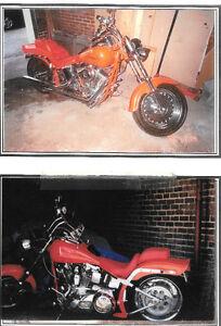 Moto Harley Davidson Softail Chopper de Collection