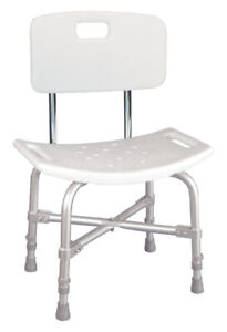 Deluxe Shower Chair with Cross-Frame Brace (Brand New)