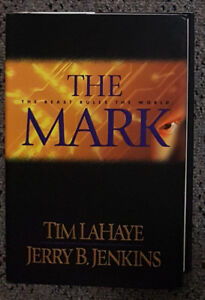 Books by Jerry Jenkins and Tim Lahaye.