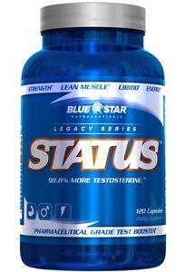 Testosterone Supplement - STATUS - Blue Star Nutraceuticals Gatineau Ottawa / Gatineau Area image 1
