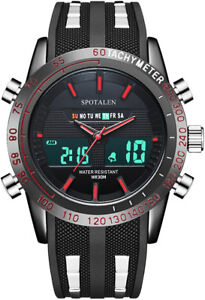 New Men's Sport Watches Analog and Digital