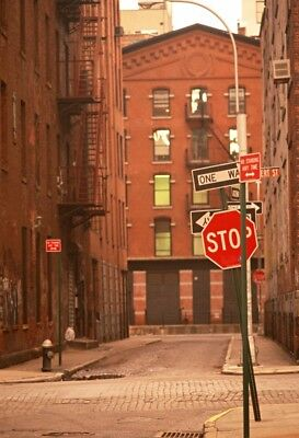 City Street Backdrop Alley Indicator Sign 5x7ft Studio Props Photo Background