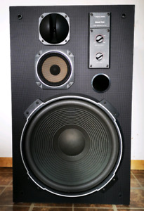 MACH 2's RETRO REALLISTIC FLOOR SPEAKERS(newly refoamed)