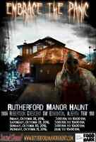 Rutherford Manor Home Haunt