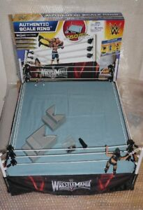 WWE True Scale Ring uesd w/ box (Figures Not Included)