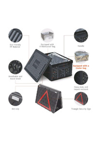 New Collapsible foldable storage trunk Organizer cooler camping