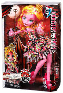"HUGE 17"" Monster High Doll - Gooliope J (Brand New in Box)"