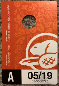 Parks Canada Discovery Pass for Adult