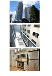 FULLY FURNISHED Studio Condo w/2 Beds, Internet, Cable & Balcony
