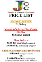Homemade Candy for sale