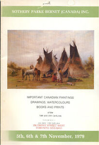 SOTHEBY & CO(CANADA) IMPORTANT CANADIAN PAINTINGS NOVEMBER 1979