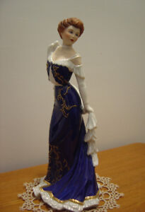 """""""Mrs. Vreeland"""" Figurine By The Franklin Mint"""