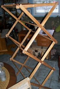 Antique wooden Clothing Rack