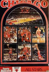 Vintage Chicago Bulls Michael Jordan Dennis Rodman Posters