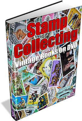 STAMP COLLECTING 239 Vintage Books on DVD - Album,Timbre,Penny Black,Philatelist