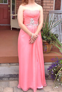 Two Anny Lee Coral Prom Dresses For Sale