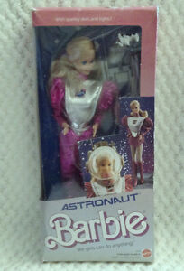Astronaut Barbie circa 1986 (Lot of 2) MINT IN BOX