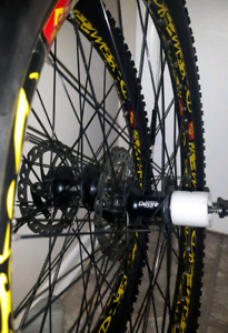 DEORE 26 INCH COMPLETE WHEEL SET