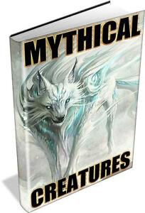 MYTHICAL CREATURES 21 Rare, Vintage Books on DVD! CRYPTOZOOLOGY, ABNORMALITIES