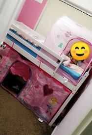 Single Midsleeper Bed with Slide