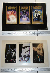 Star Wars movie Trilogy Collection THX Special Edition Posters