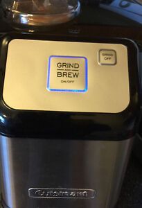1 CUP COFFEE GRIND/BREW MACHINE(STAINLESS STEEL)