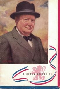 1941, WINSTON SPENCER CHURCHILL, 32 PAGES, 14 PHOTOS