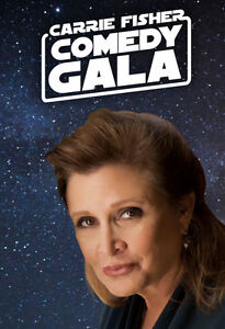 CARRIE FISHER JUST FOR LAUGH GALA/JULY 31/BELOW COST/SAVE $78.00