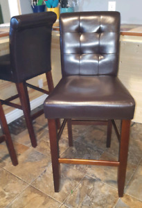 4 Bar style chairs