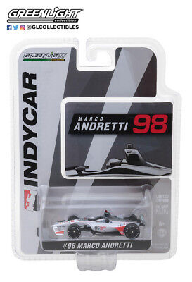 Marco Andretti 2018 10821 Greenlight 1 64  98 Us Concrete Indy Car Free Ship