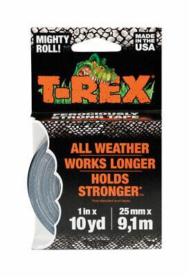 T-rex 1 In. W X 10 Yd. L Duct Tape Gray