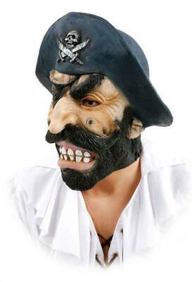 Maske Piraten Seeräuber Freibäuter Pirat Piratin Kostüm Jacke - Hut Pirat Kostüme Maske