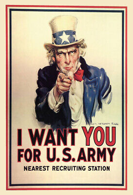 Us Army Sign Board - I Want You for US Army Uncle Sam Metal Sign Signboard Tin 7 7/8x11 13/16in