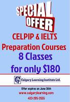 ESL. IELTS, CELPIP & CAEL CLASSES