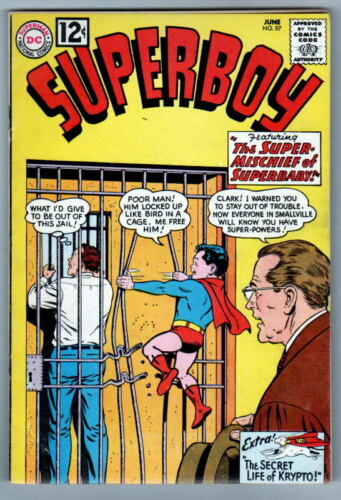 SUPERBOY 97 DC Comics 1962