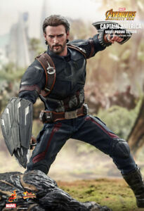 Hot Toys MMS481-Infinity War Captain America Movie Promo Edition