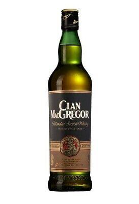 Clan MacGregor Blended Scotch Whisky - 40 % Vol. / 1 Liter